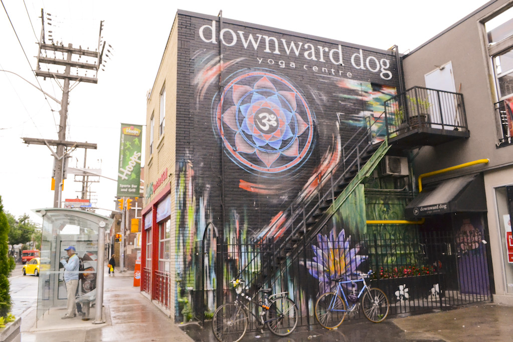 Downward Dog on Queen West | Courtesy Downward Dog Yoga Centre