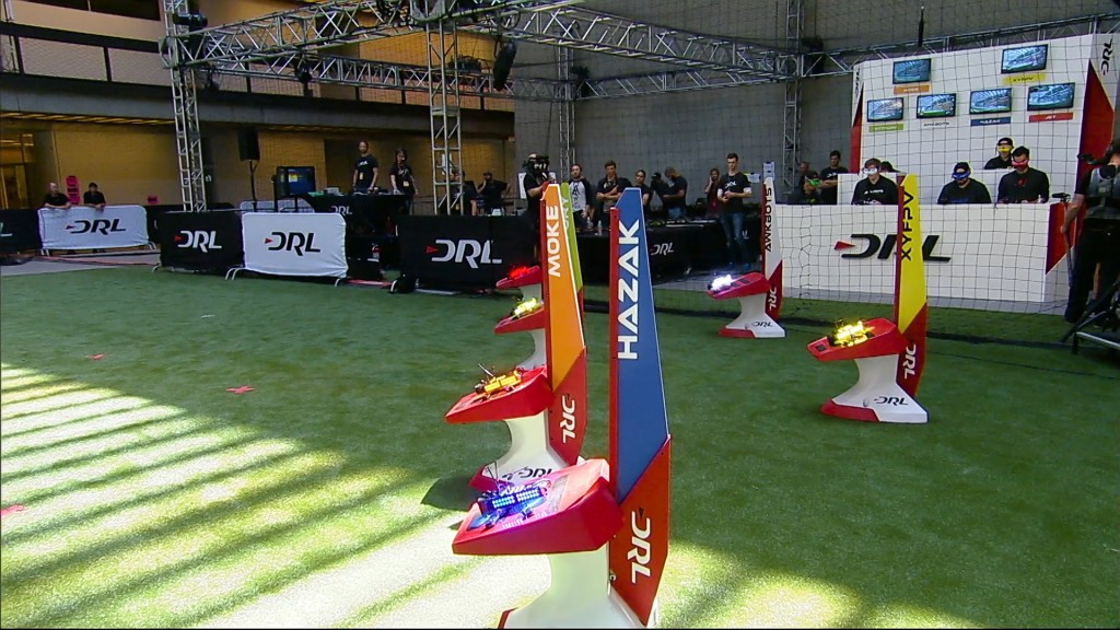 The Drone Racing League pits the world's best pilots against each other   © Drone Racing League