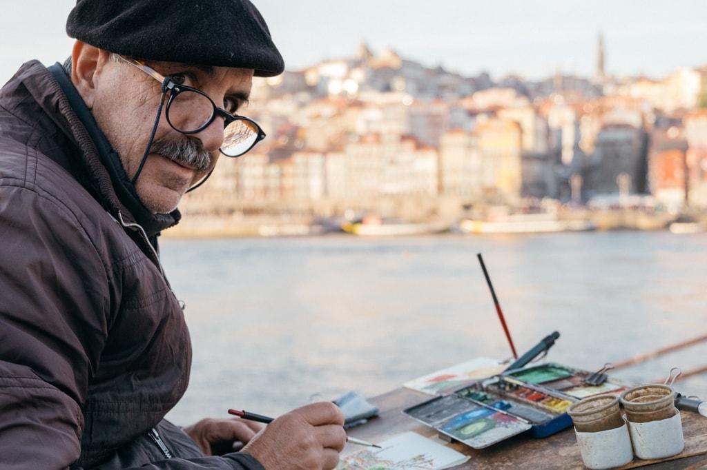 DSCF2588 - WATSON - VILA NOVA DE GAIA, PORTUGAL - LOCAL ARTIST AVELINO MACHADO_