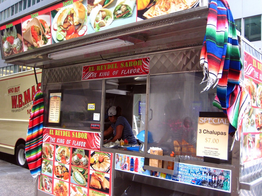 "El Rey del Sabor is a food truck with no ""inside dining"" 