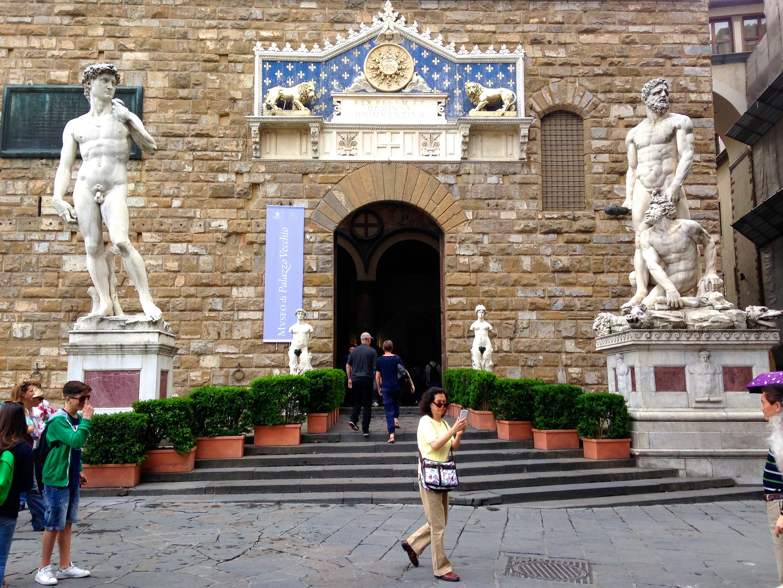 palazzo vecchio entrance - photo #24