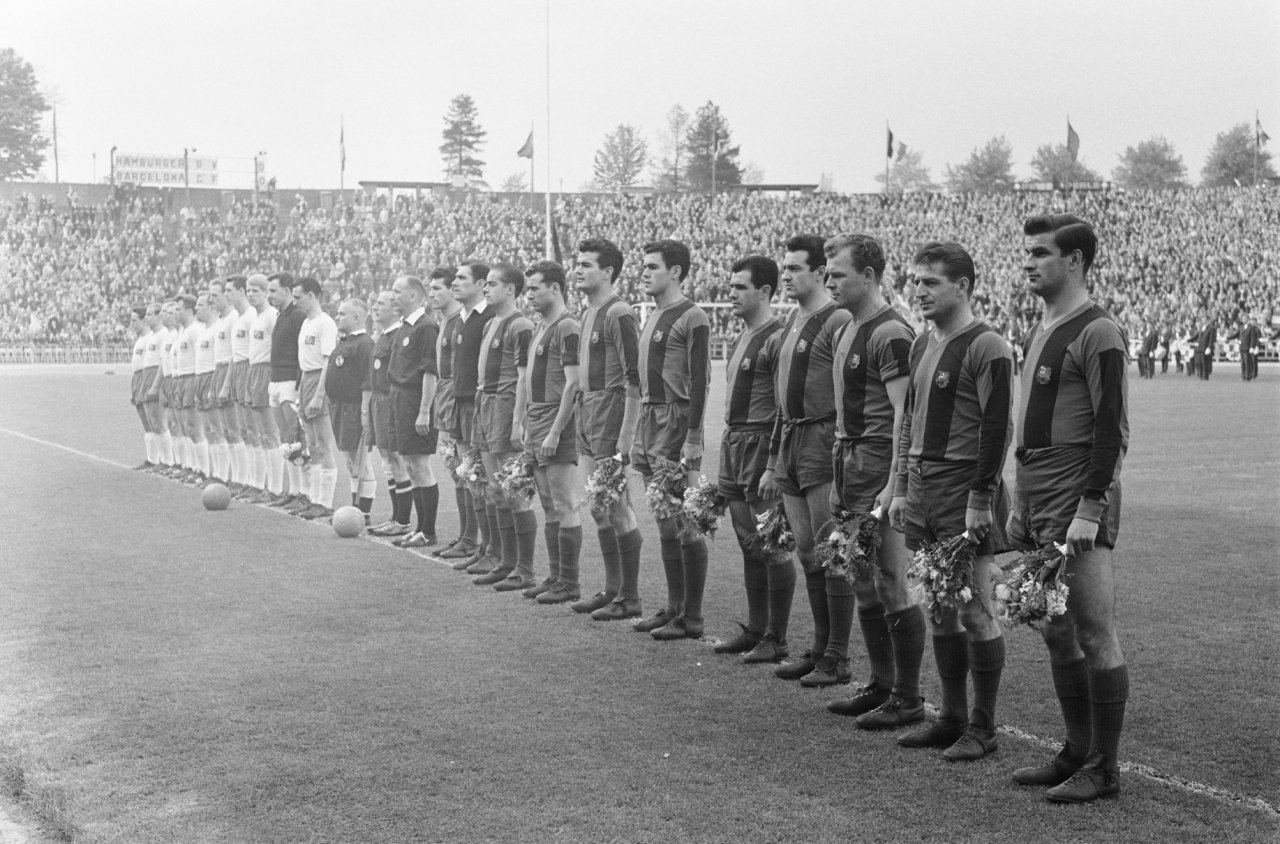 FC Barcelona in 1960 © Harry Pot