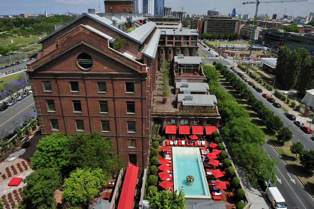 Faena Hotel, 5 start hotel in Puerto Madero , Buenos Aires| © T photography/Shutterstock
