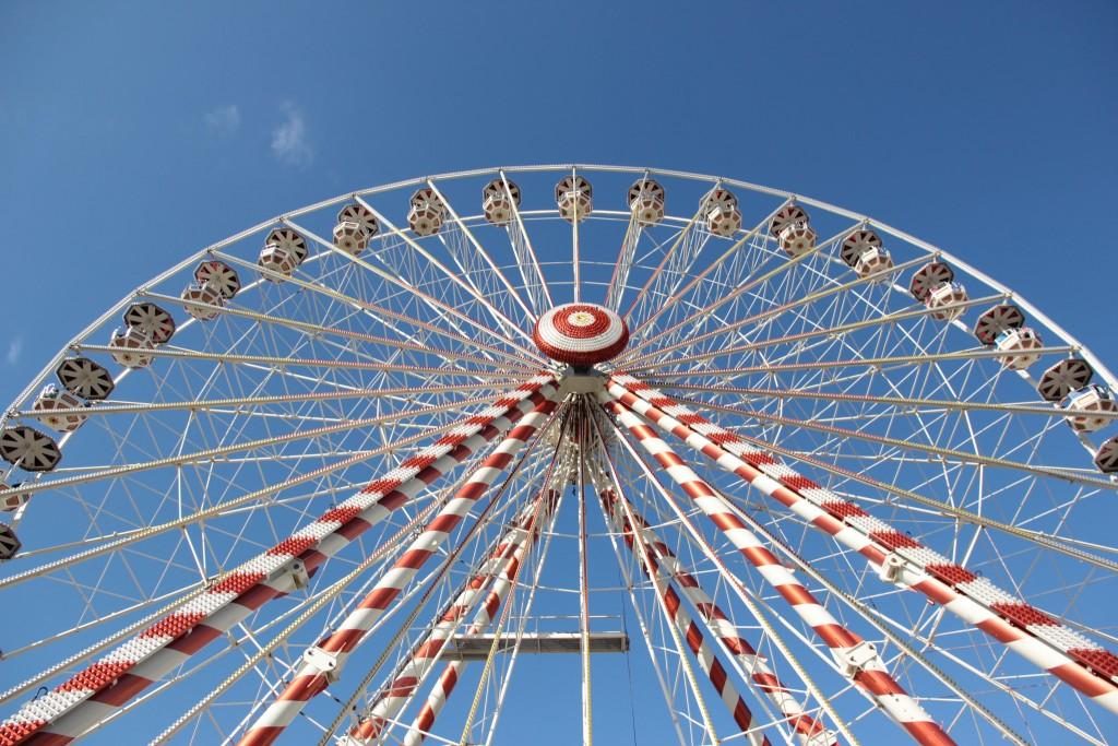 Ferris wheel 24 Hours of Le Mans, 2014 │© Emmanuel Eragne / Flickr