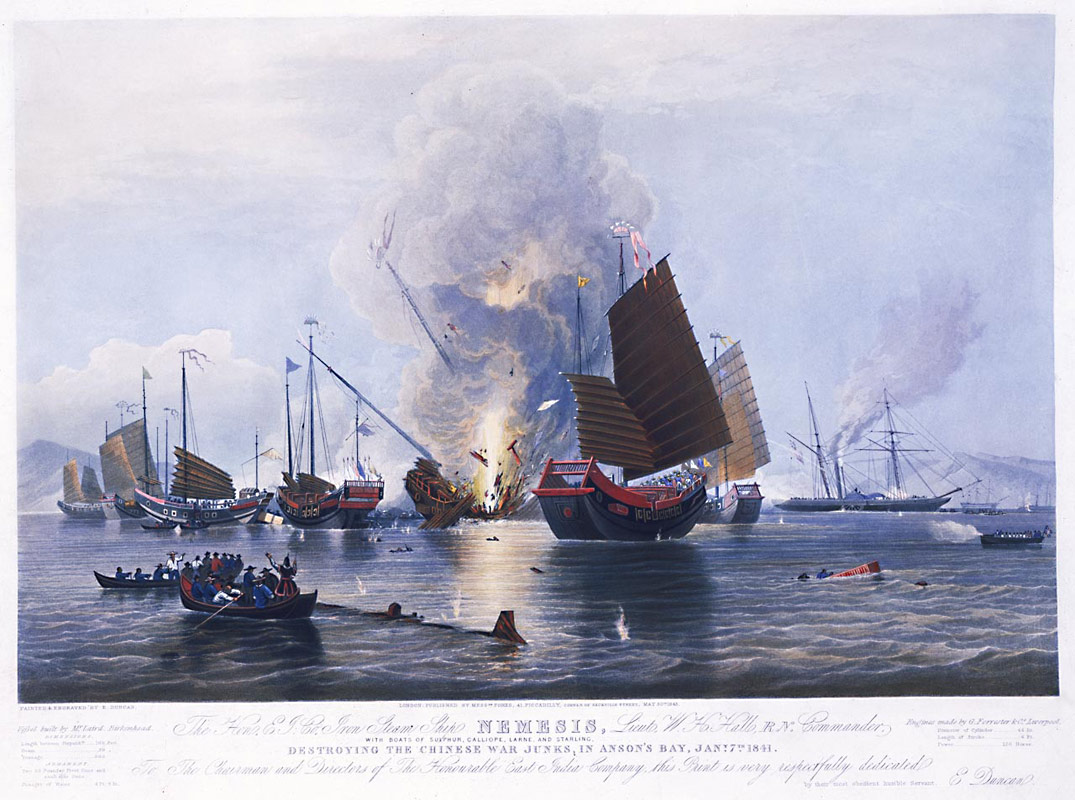 an overview of the first opium war of 1840