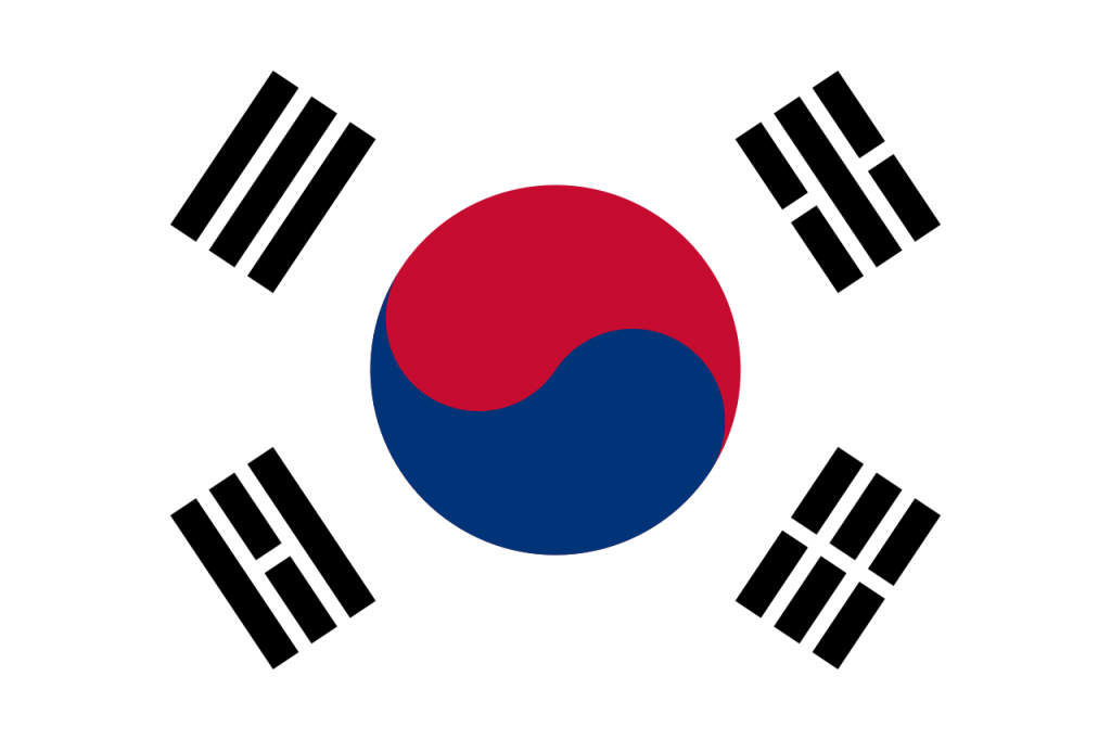 Flag of South Korea | © SirHamm