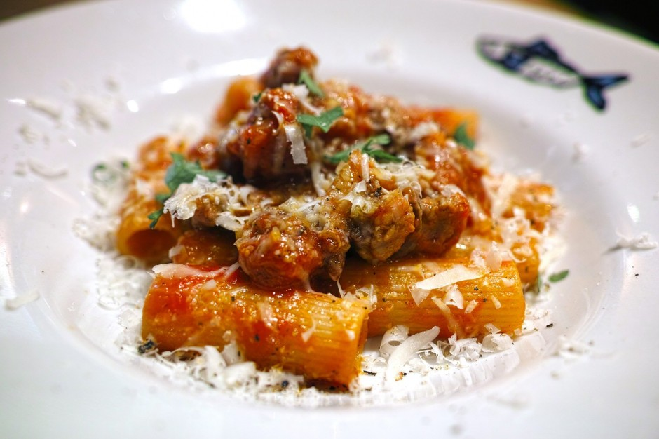 A fresh bowl of pasta CC0 Pixabay
