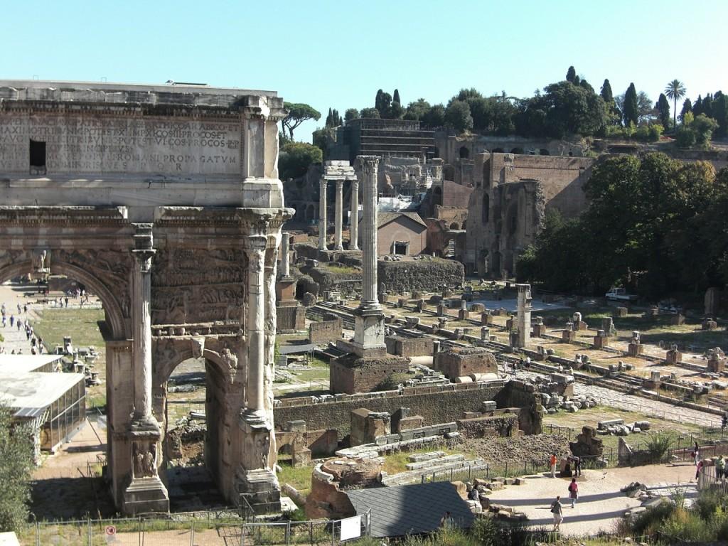 Roman Forum and Palatine Hill | © pixabay
