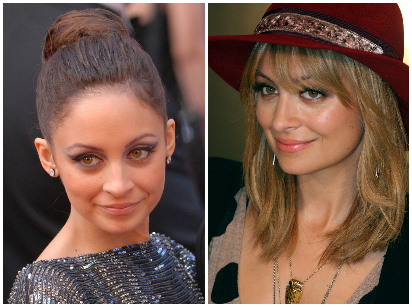 Nicole Richie at the Oscars | © Photo by Sgt. Michael Connors/WikiCommons / Nicole Richie in 2012 | © Eva Rinaldi/WikiCommons