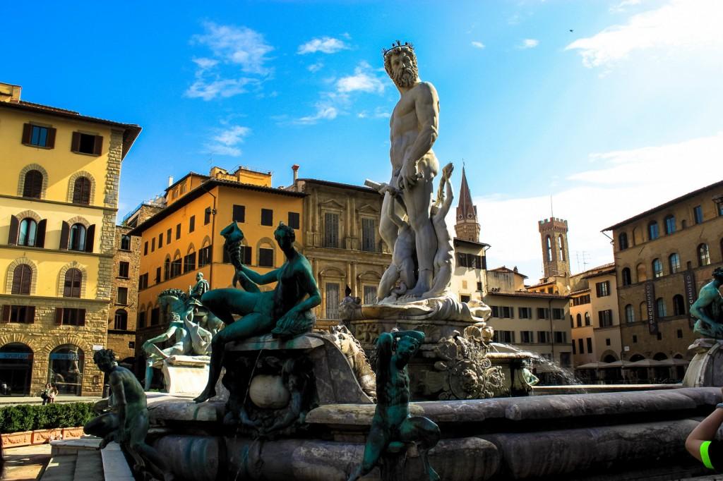 Neptune, Piazza della Signoria