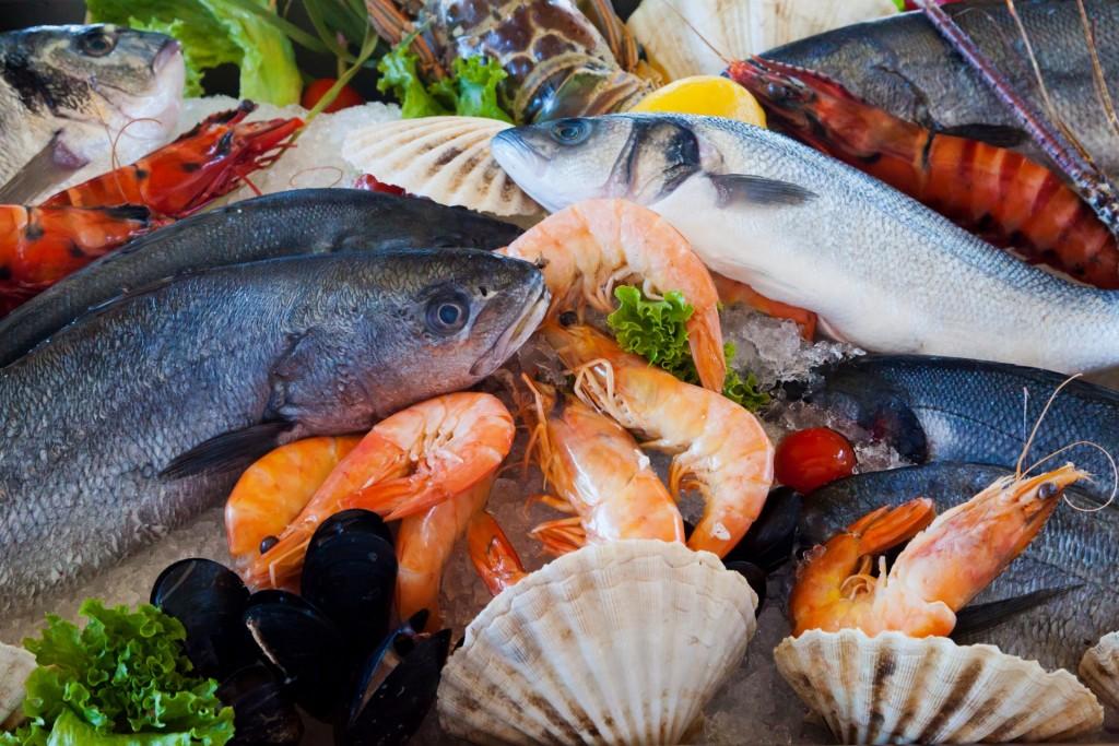 fresh seafood | ©Petr Kratochvil / publicdomainpictures.net