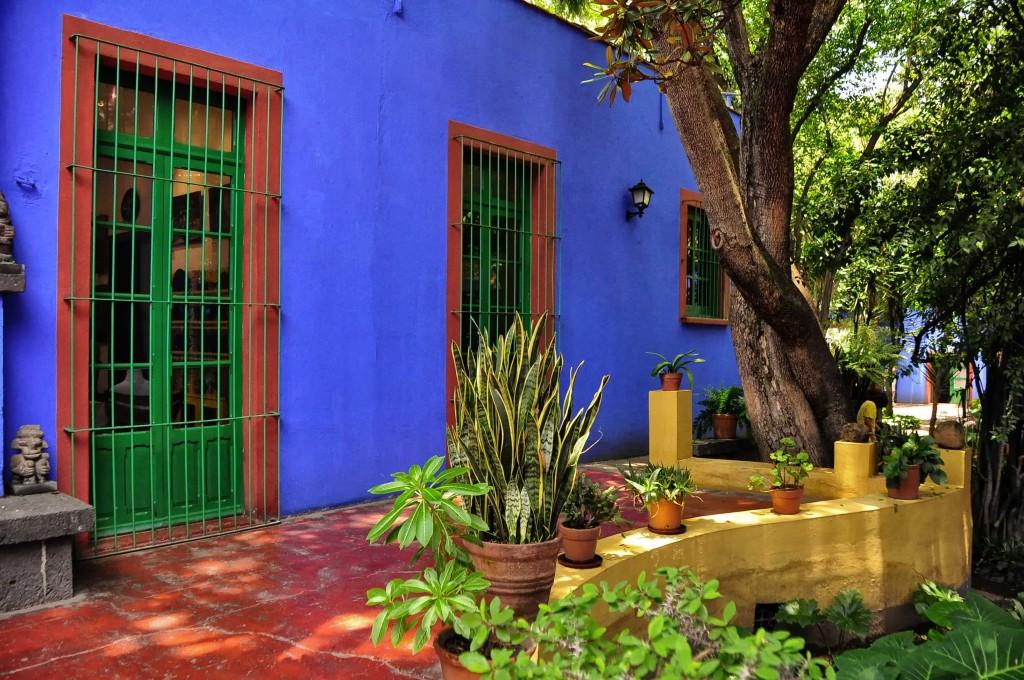 Frida Kahlo House, Mexico City | © Rod Waddington/Creative Commons
