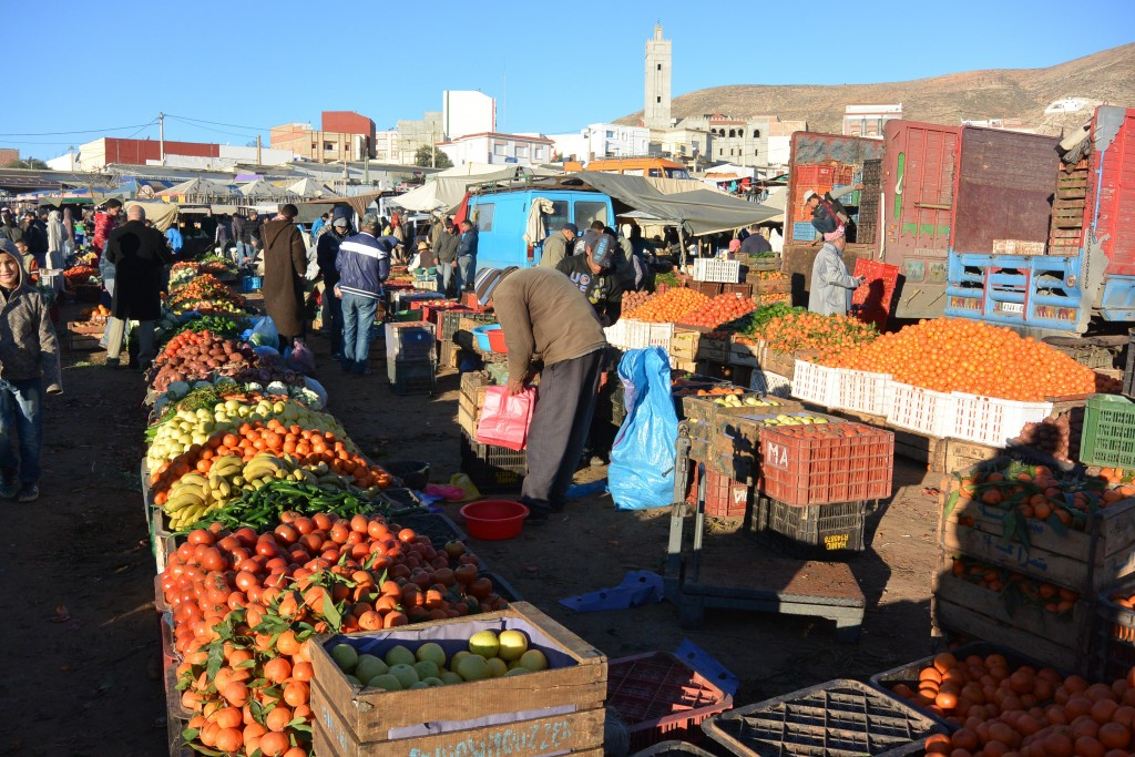 Fruit Market, Rouadi, Morocco | © Huw Kingston