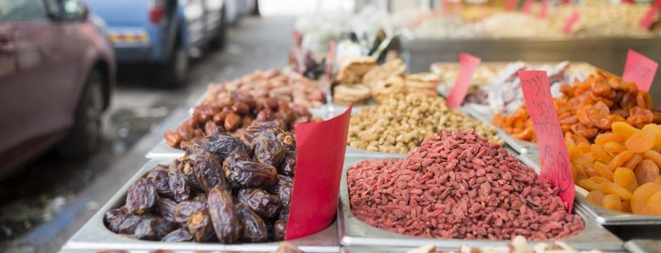 Some fresh goods at the Levinsky Market