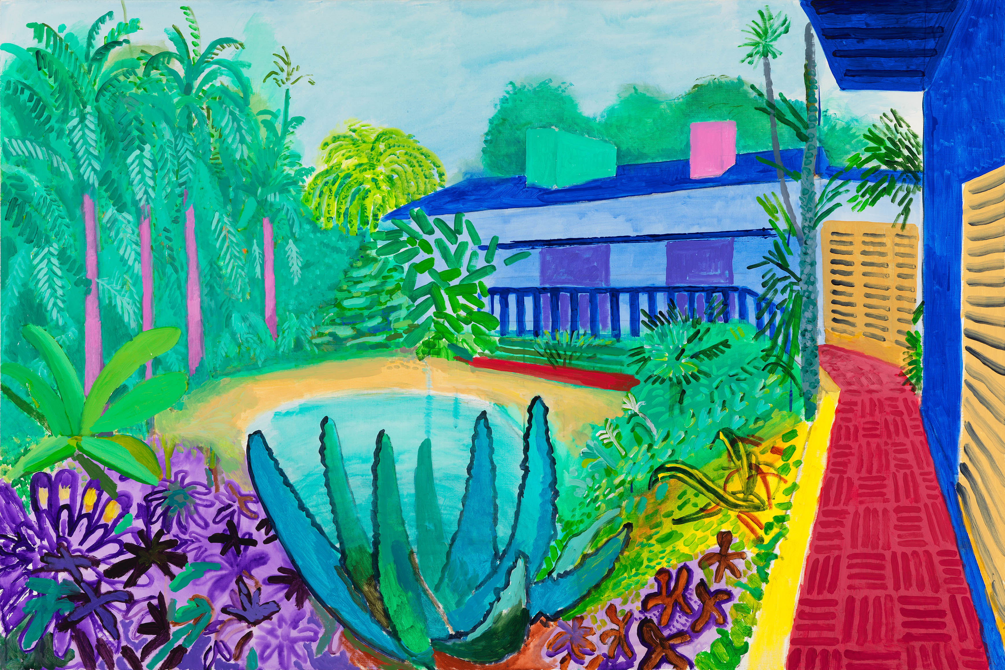 If you do one thing in 2017 make sure you see david for David hockney painting