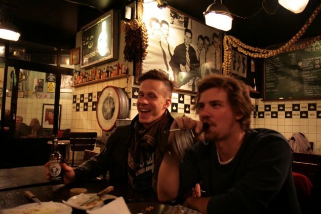 Local Stockholm restaurant