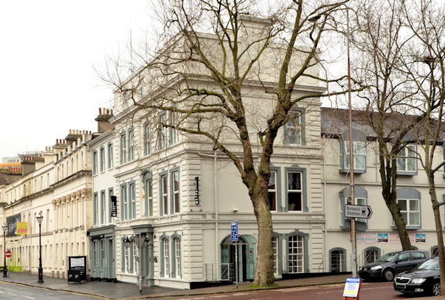 Crescent Townhouse Hotel | © Albert Bridge/ Geograph