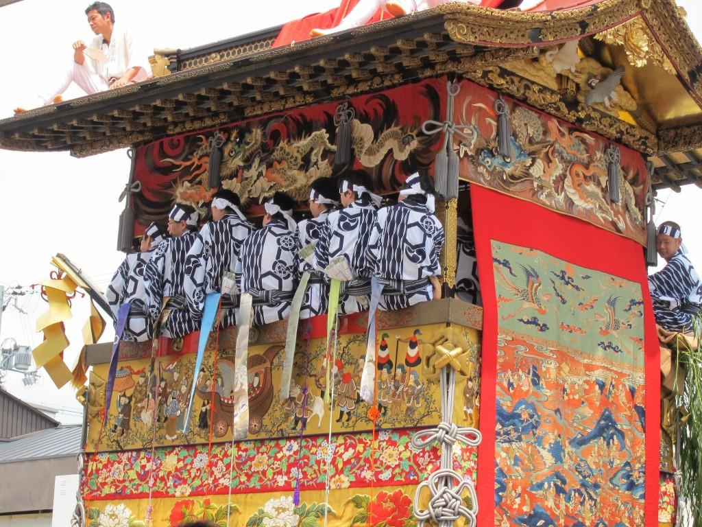 The Gion Matsuri is Kyoto's biggest annual festival