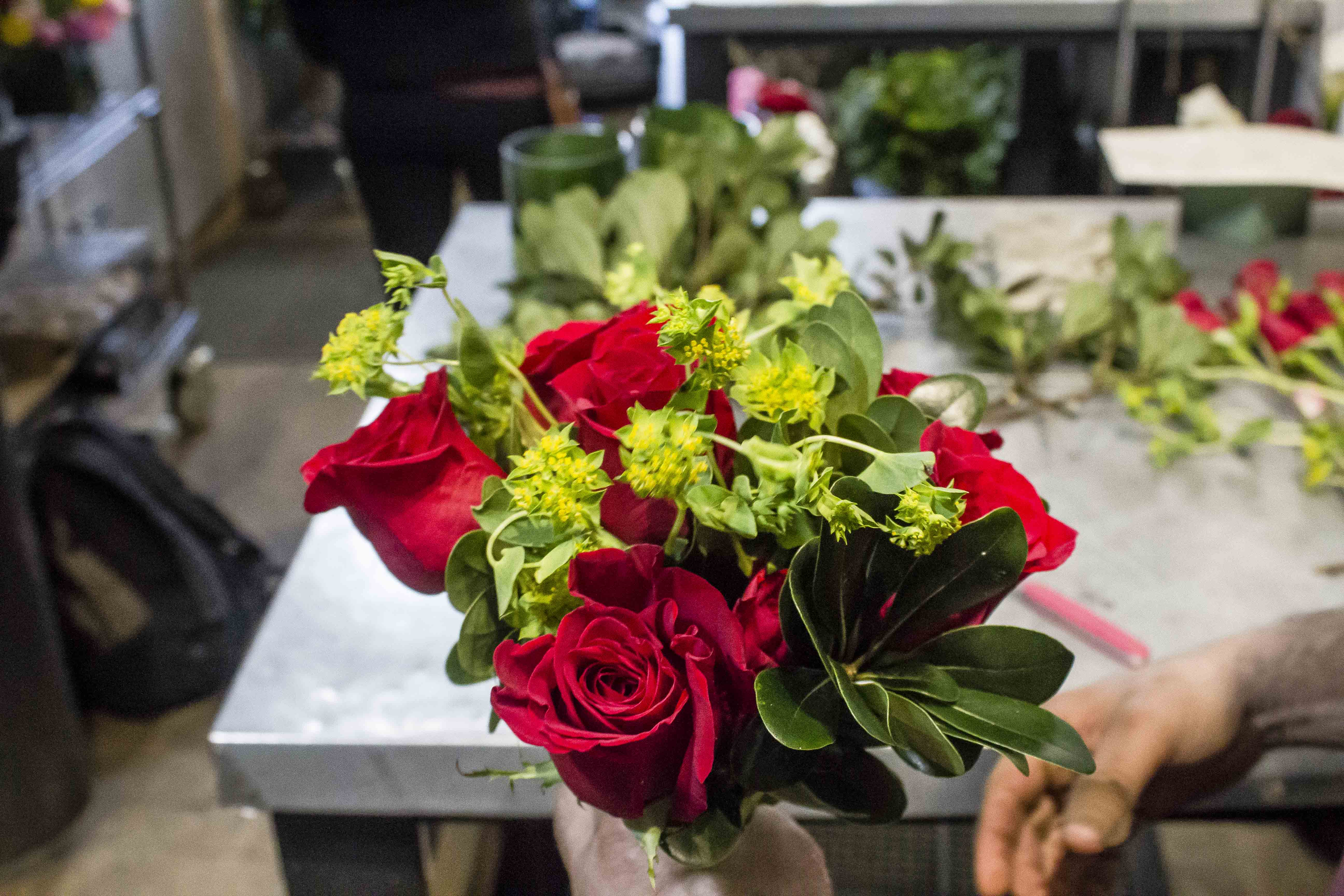 How one of the oldest nyc flower shops preps for valentines day gramercy flowers vday 029 dhlflorist Images