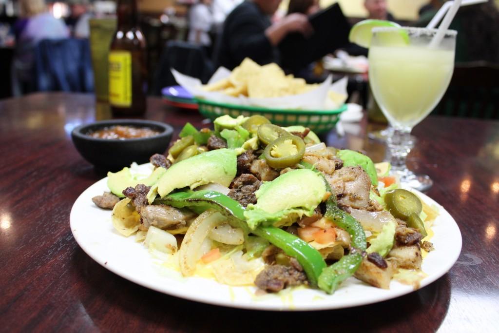Nachos at Casa Maria in Austin © Sarah Karney