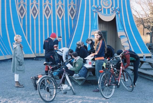 Cycle to Hagaparken's Copper Tent   ©oskar karlin/Flickr
