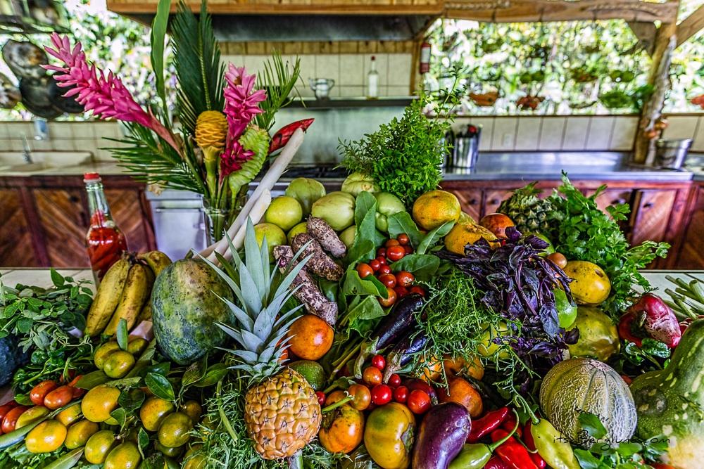 Enjoy the local harvest  ©Matt Berglund