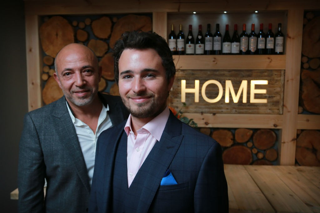 Restaurateur Dean Gassabi And Social Bite Founder Josh Littlejohn | Courtesy Of Social Bite And Frame Agency Glasgow
