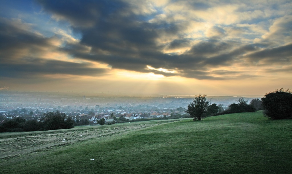 Portsdown Hill, Hampshire, United Kingdom
