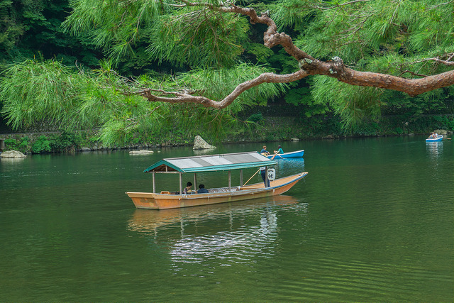 Private Boat on the Hozu River