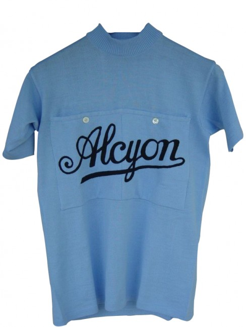 The Alcyon team jersey. | © Emile Arbes