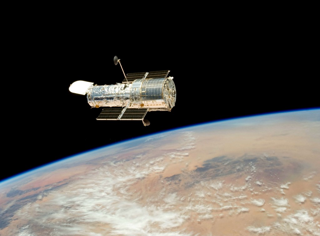 The Hubble Space Telescope. | Courtesy NASA.