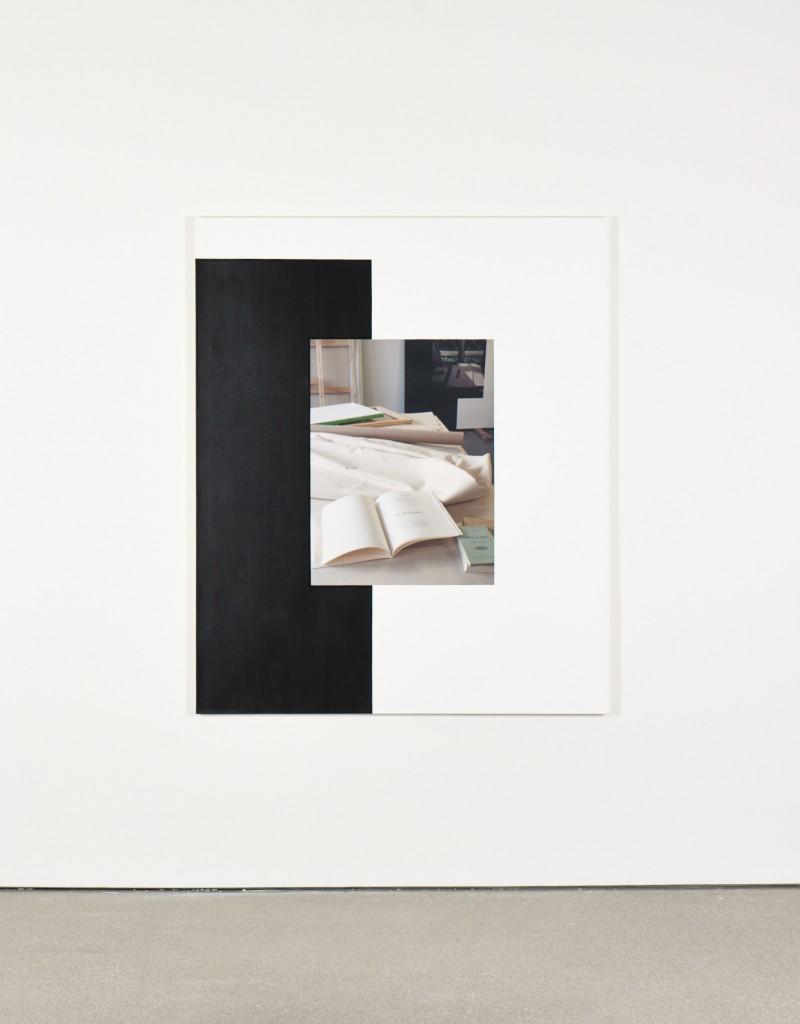 Ian Wallace at Greta Meert | Courtesy of Galerie Greta Meert