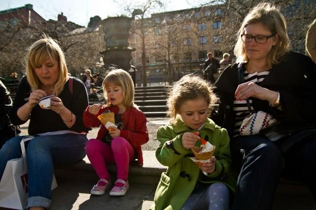 Stockholm ice cream