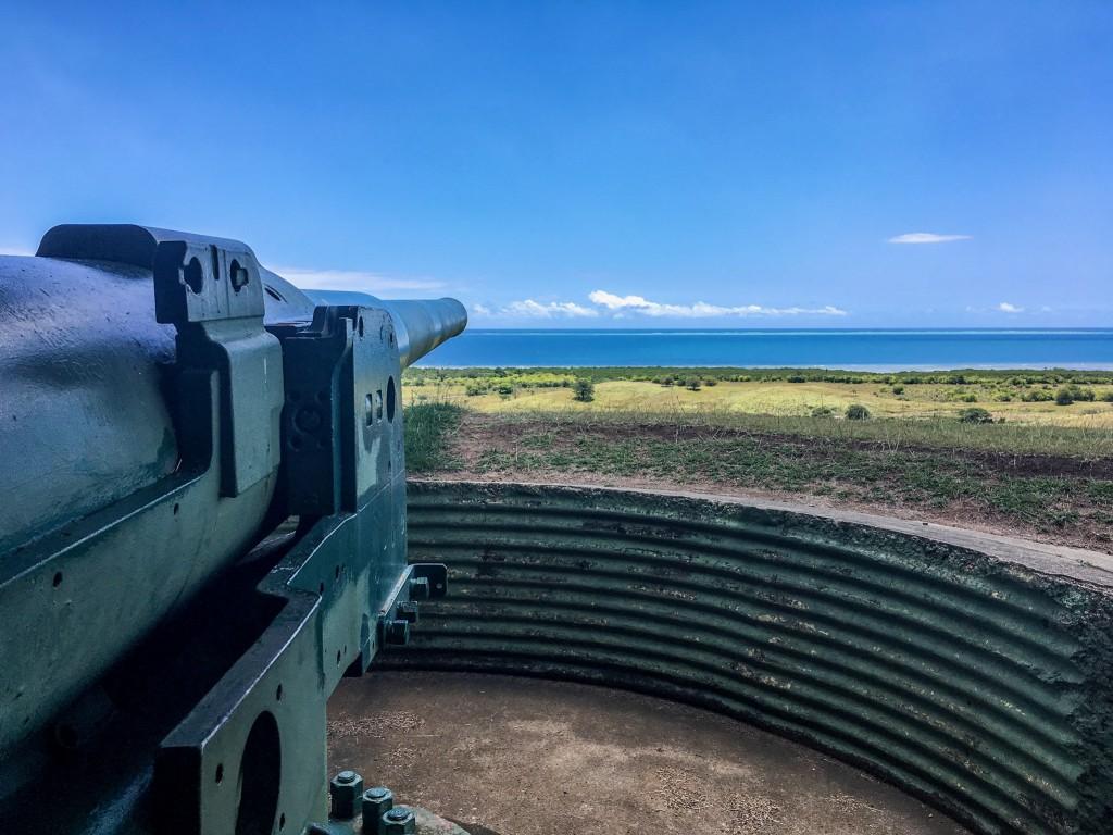 Momi Bay Gun Site, Fiji | © Juliette Sivertsen