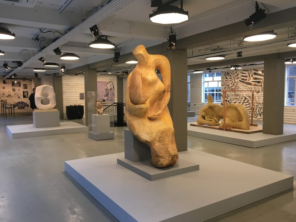 Installation view of 'Henry Moore: Inspiration & Process' at Makers House. © Freire Barnes