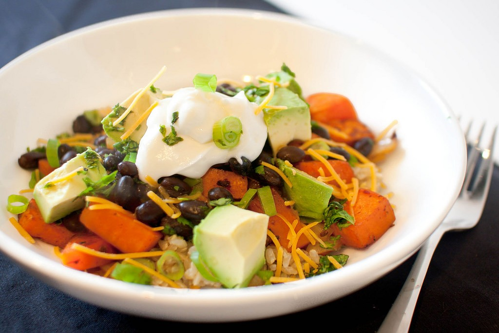 Vegetarian salad © Bobbi Bowers / Flickr