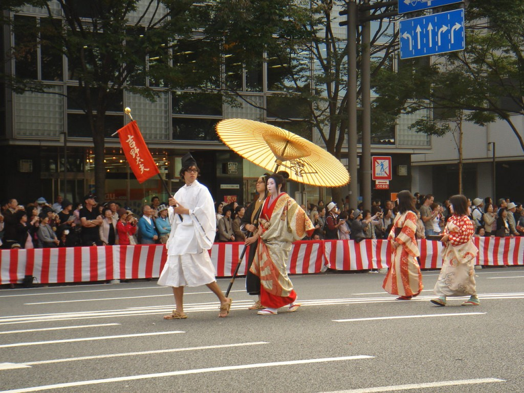 The Jidai Matsuri, also known as 'The Festival of the Ages'
