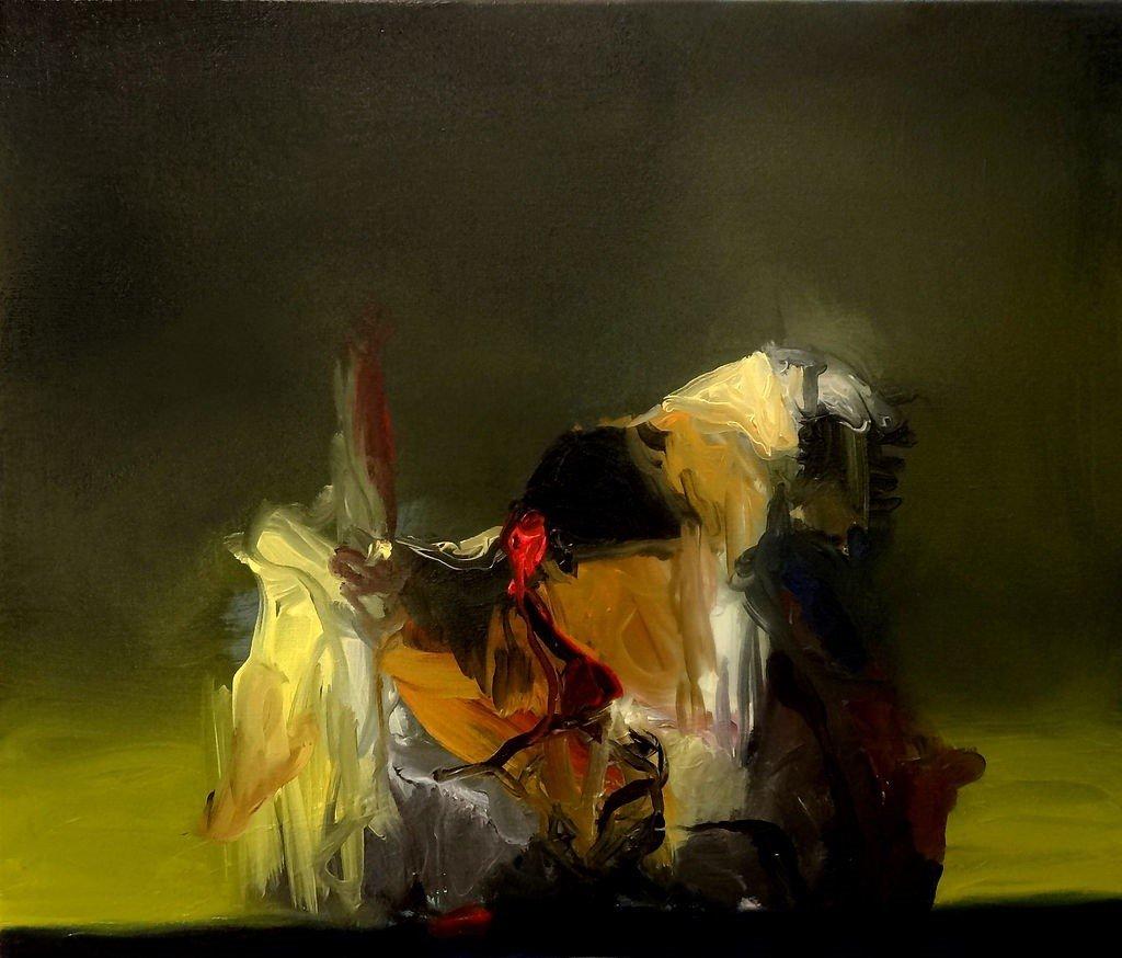 An untitled Joseba Eskubi painting | © Joseba Eskubi/Wikipedia.