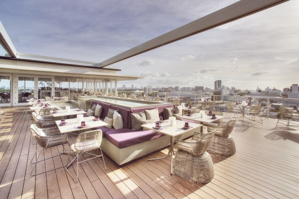 Enjoy delicious cuisine and excellent views at Juvia | Courtesy of Juvia