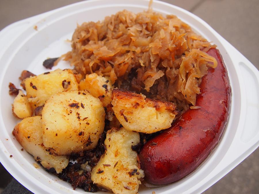 Lithuanian street food ©Elizabeth Georgian