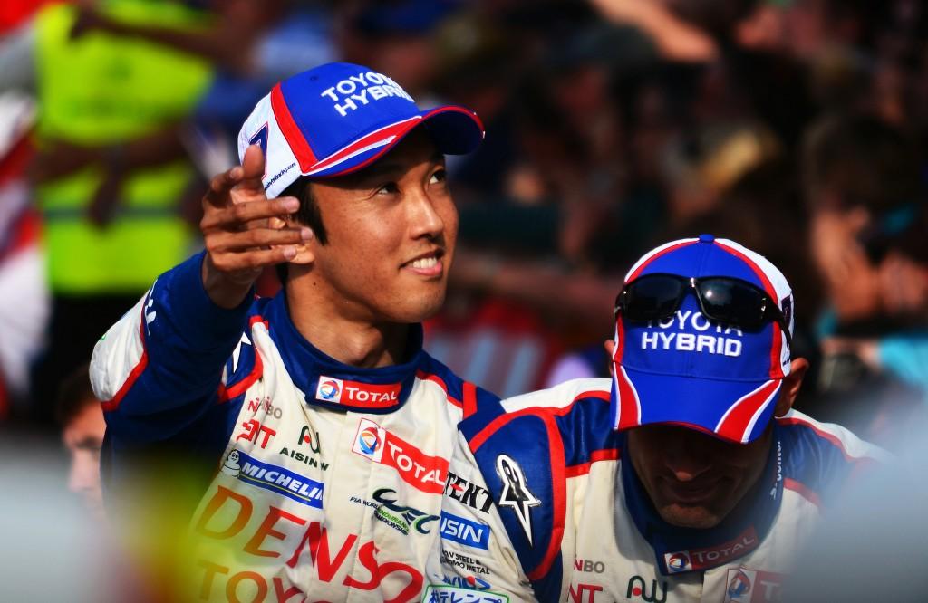 Kazuki Nakajima, Toyota WEC driver and 2014 24 Hours of Le Mans polesitter │© Nic Redhead / Flickr