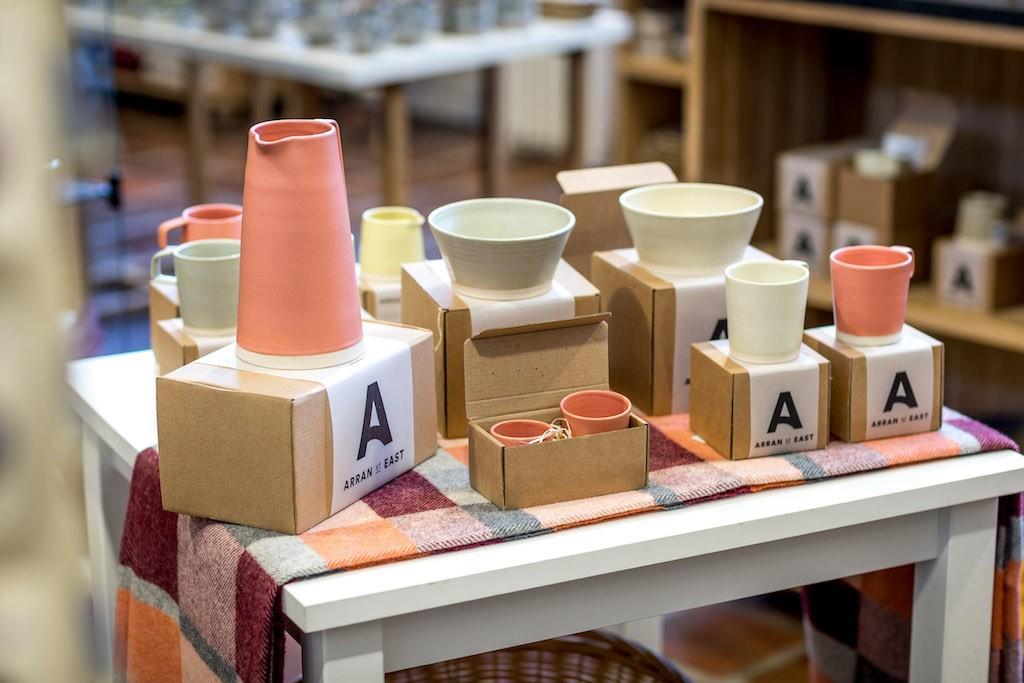 Arran Street East pottery at Kilkenny Design Centre   Courtesy of Kilkenny Design Centre