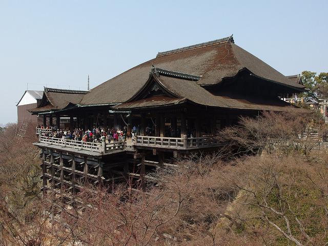 The Main Hall at Kiyomizu-dera Temple