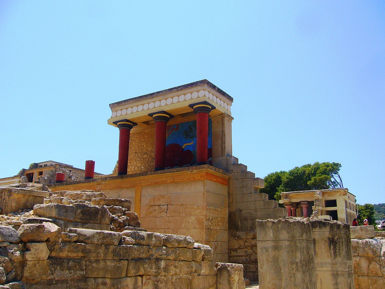 Knossos Palace in Crete. Greece, Crete: Attractions 84