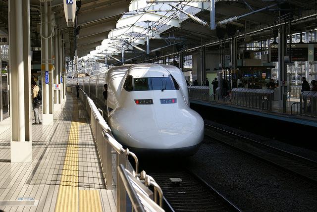 Shinkansen at JR Kyoto Station