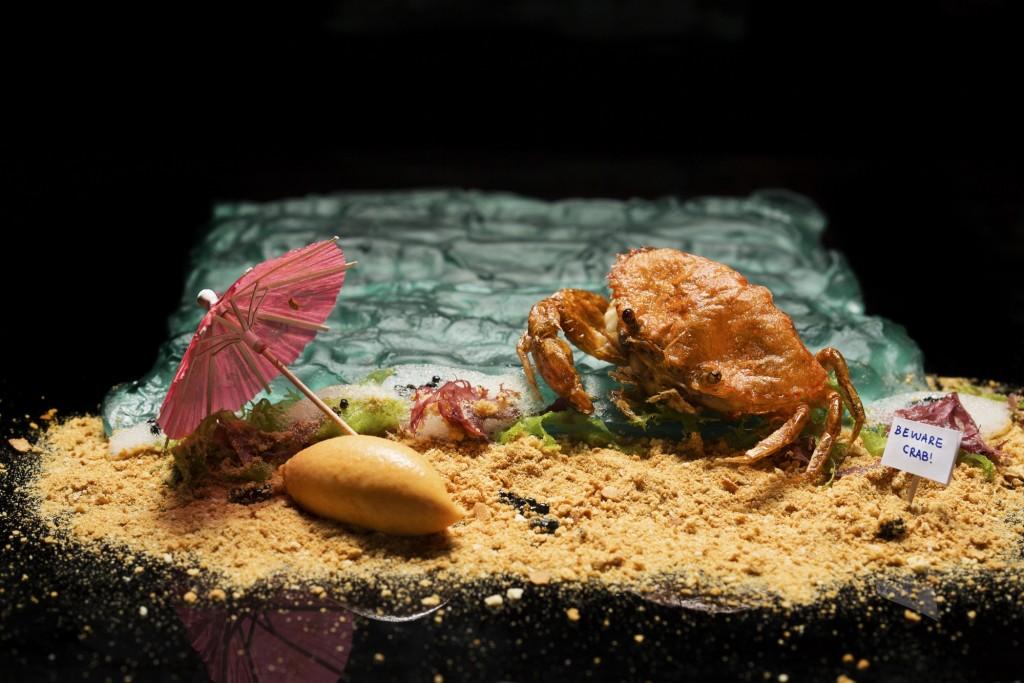 Labyrinth's Chilli Crab Ice Cream | Credit John Heng Daphotographer | Courtesy of Labyrinth