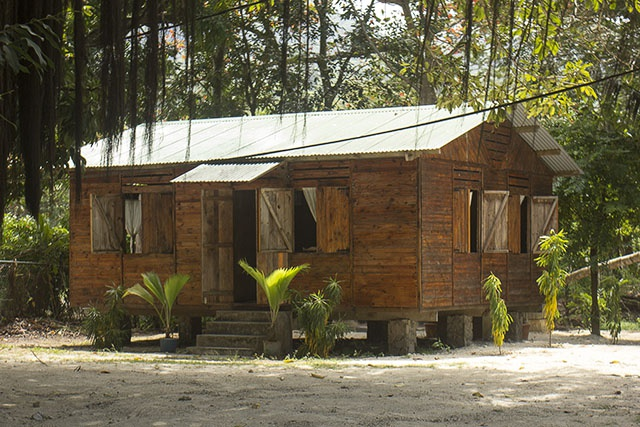 Lake Rosa, a replica servant house from colonial times. ©Salifa Magnan, Seychelles News Agency