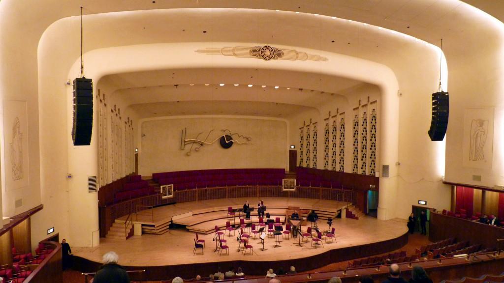 Liverpool Philharmonic Hall stage