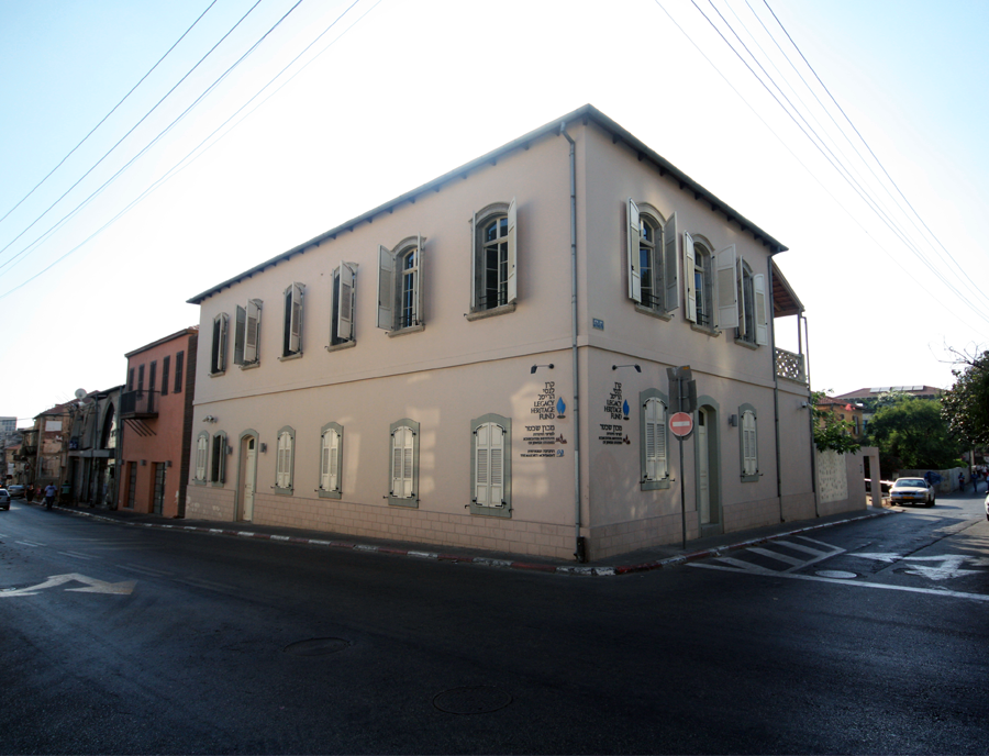 Site of the historical Café Lorenz, now the Schechter Institute of Jewish studies in Tel Aviv | Kimmel Eshkolot Architects ©, courtesy