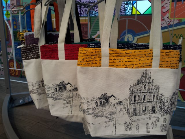 Bags for sale | Courtesy of Macau Creations